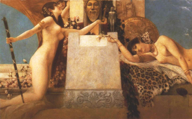 Gustave-Klimt_Altar-des-Dionysos_Burgtheater_Wien